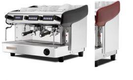 Expobar Megacrem kétkaros kávéfőző elektronikus adagszámlálóval (spanyol kávégép) piros