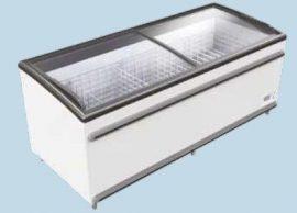 UMD 1850 D BODRUM - Mélyhűtőláda csúszó domború üvegtetővel
