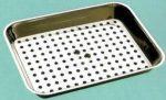 Csepegtetős Inox tálca 50x35x5 cm