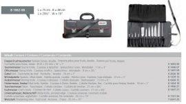 Dick_8106300 11 db-os késkészlet rolltáskában