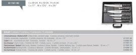 Dick_8116100  6 db-os késkészlet mágneses tárolóval
