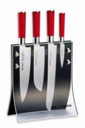 Dick_8177200 RED SPIRIT 4 részes kés készlet késtartó blokkban