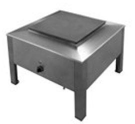 Elektromos üzemű főzőzsámoly, rozsdamentes acél felépítés 7kW