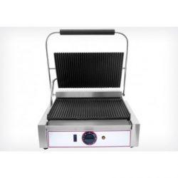 Kontakt grill bordás PANINI sütő  (Beckers)