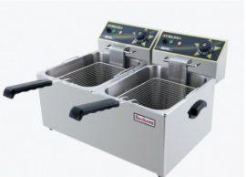 6+6 literes fritőz Eco Line (Beckers)