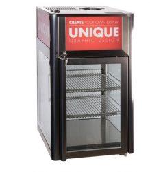 L-116 RM - Üvegajtós hűtővitrin