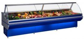 LCD Dorado D REM 1,2 - Hajlított üvegű csemegepult aggregát nélkül
