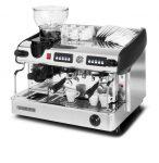 Expobar Megacrem kétkaros kávéfőző számlálós darálóval fekete színben (spanyol kávégép)