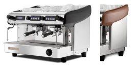 Expobar Megacrem kétkaros kávéfőző elektronikus adagszámlálóval fa borítással (spanyol kávégép)