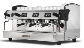 Expobar Megacrem háromkaros kávéfőző elektronikus adagszámlálóval (spanyol kávégép)