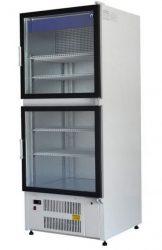 SCH-1-1 LUNA - Hűtővitrin dupla üvegajtóval