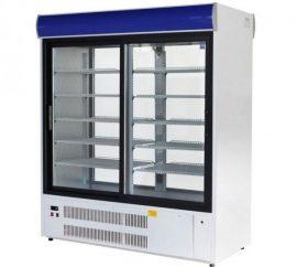 SCH-1-2/P Westa - Kétoldalon üveges hűtővitrin