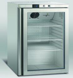 SK 145 GD - Rozsdamentes hűtővitrin