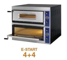 Pizzakemence, elektromos, 2 aknás (Olasz!) 2*4 db 31 cm-es pizzához