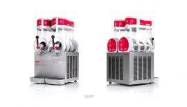 Ugolini 2x15 literes jégkásagép (2 tartályos)