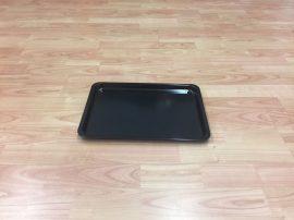 Fekete tálca 35 X 24 X 2 cm-es (műanyag/melamin)