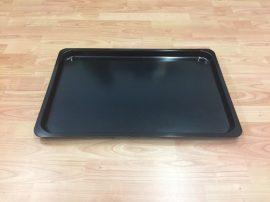 Fekete tálca 61 X 41 X 3 cm-es (műanyag/melamin)